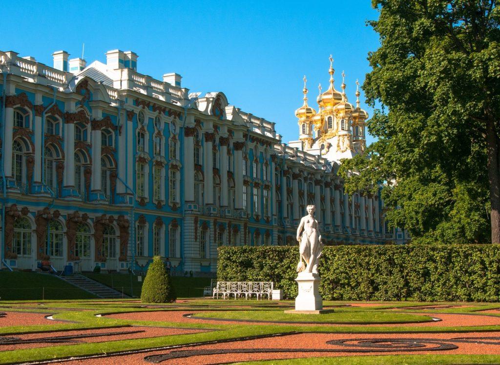 *Palazzo di Caterina* (Tsarskoe Selo) con la visita della Famosa Stanza d'Ambra изображение